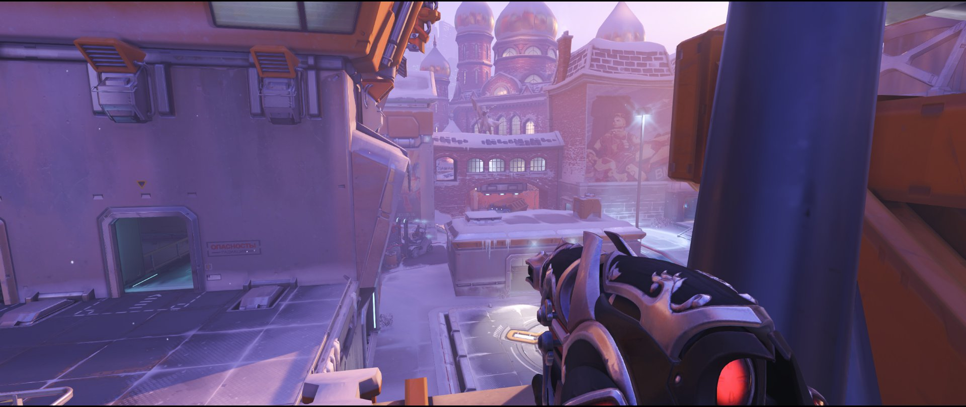 Robot first cable view defense sniping spot Widowmaker Volskaya Industries Overwatch.jpg