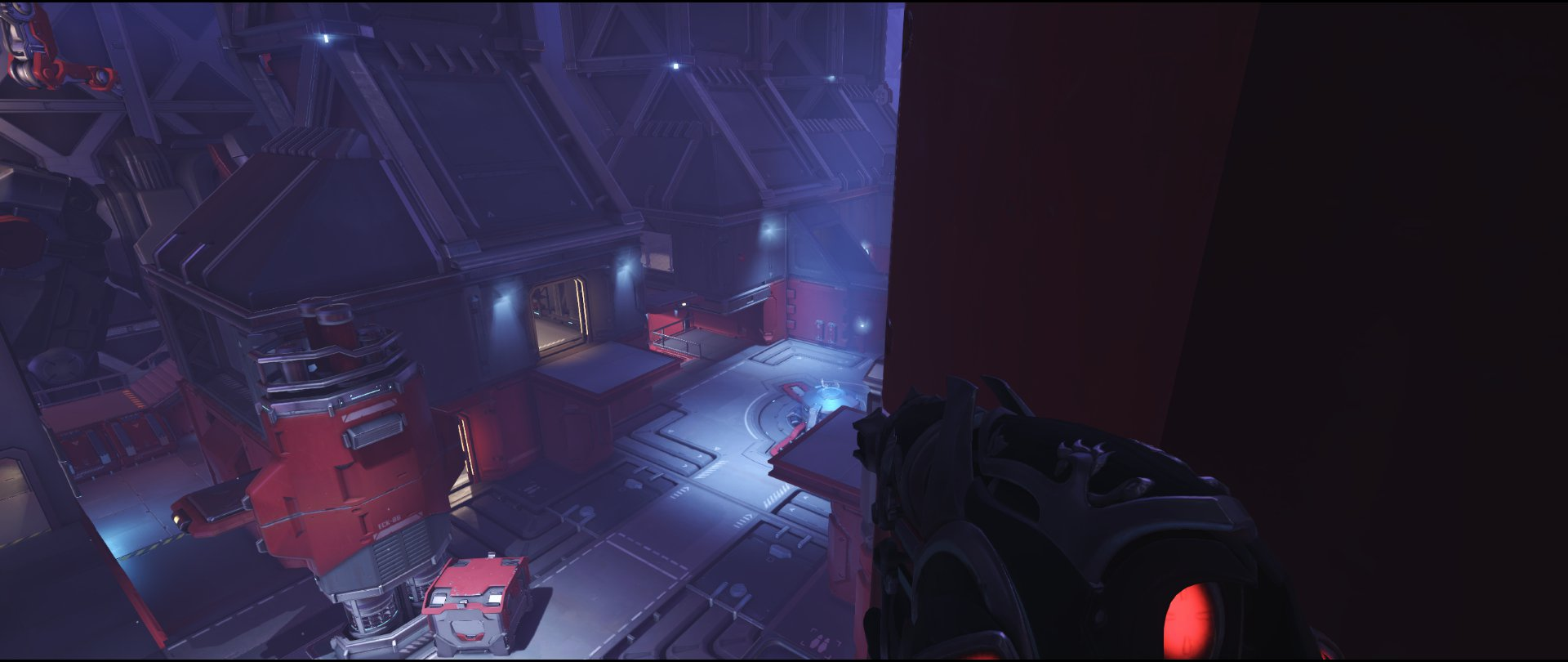 Turbine high ground view attack sniping spot Widowmaker Volskaya Industries Overwatch.jpg