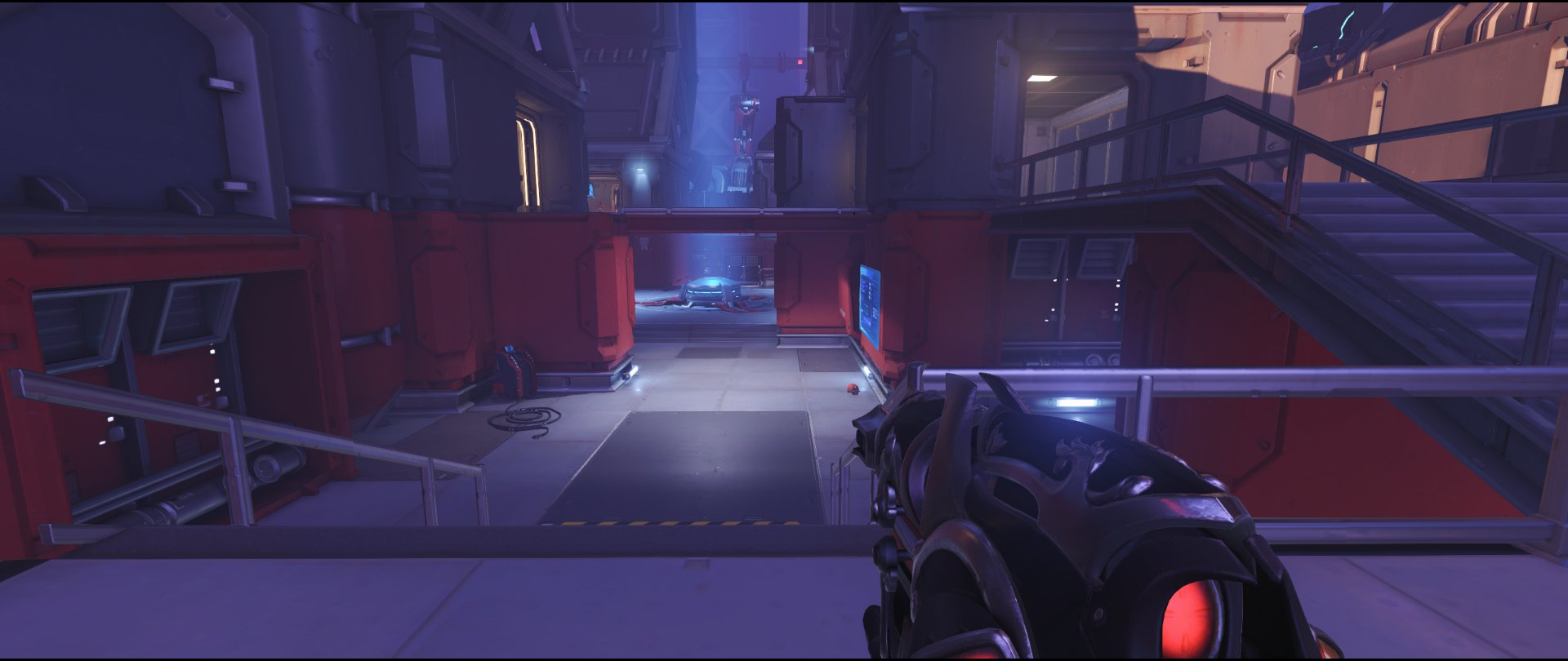 Right side flank view attack sniping spot Widowmaker Volskaya Industries Overwatch.jpg