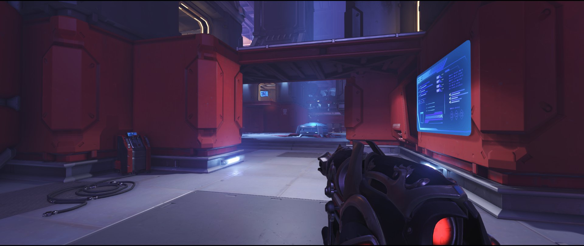 Coast ground level defense sniping spot Widowmaker Volskaya Industries Overwatch.jpg