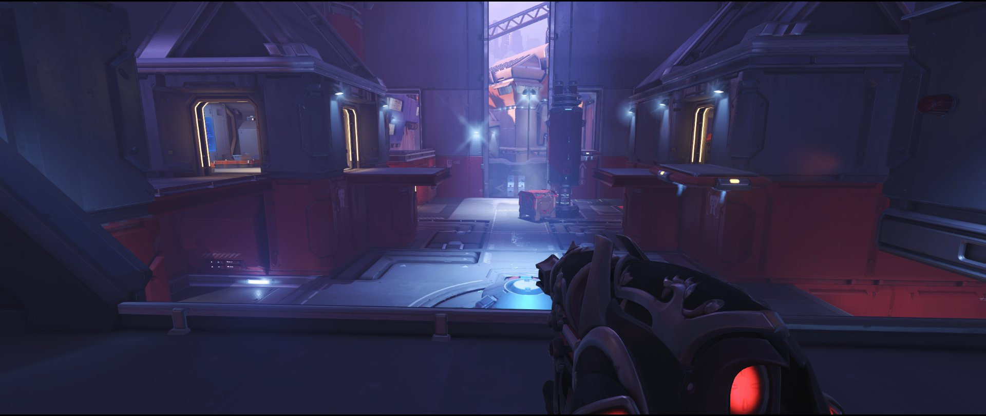 Bridge defense sniping spot Widowmaker Volskaya Industries Overwatch.jpg