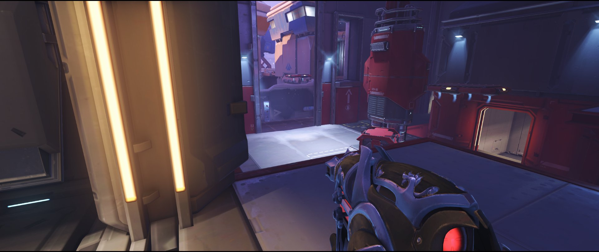 Closet defense sniping spot Widowmaker Volskaya Industries Overwatch.jpg
