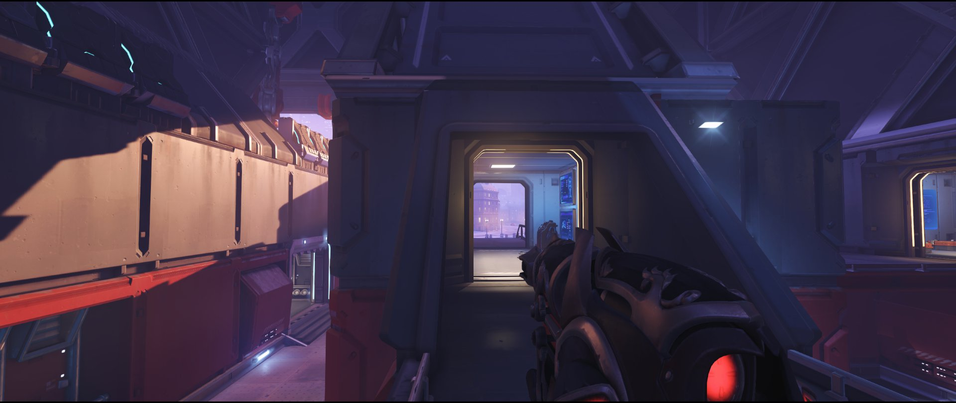 Bridge high ground defense sniping spot Widowmaker Volskaya Industries Overwatch.jpg