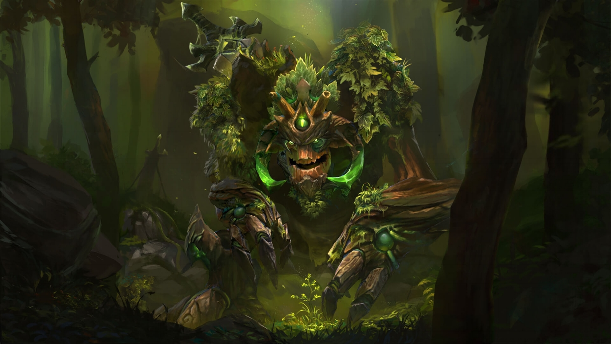 Protector of the Ancient Seal loading screen for Treant Protector - Valve