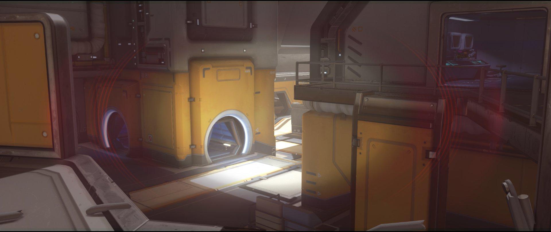 Start+catwalk+defense+sniping+spot+Widowmaker+Horizon+Lunar+Colony+Overwatch