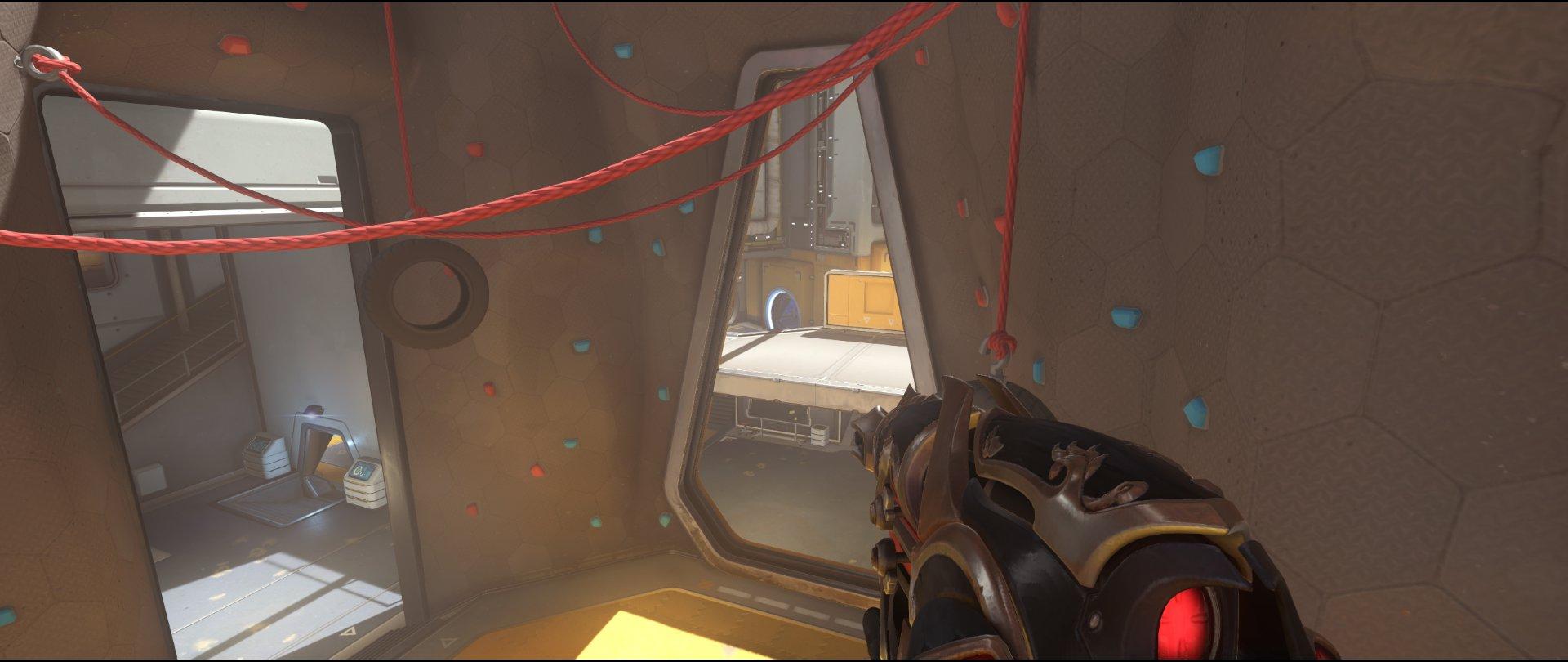 Main+tire+defense+sniping+spot+Widowmaker+Horizon+Lunar+Colony+Overwatch