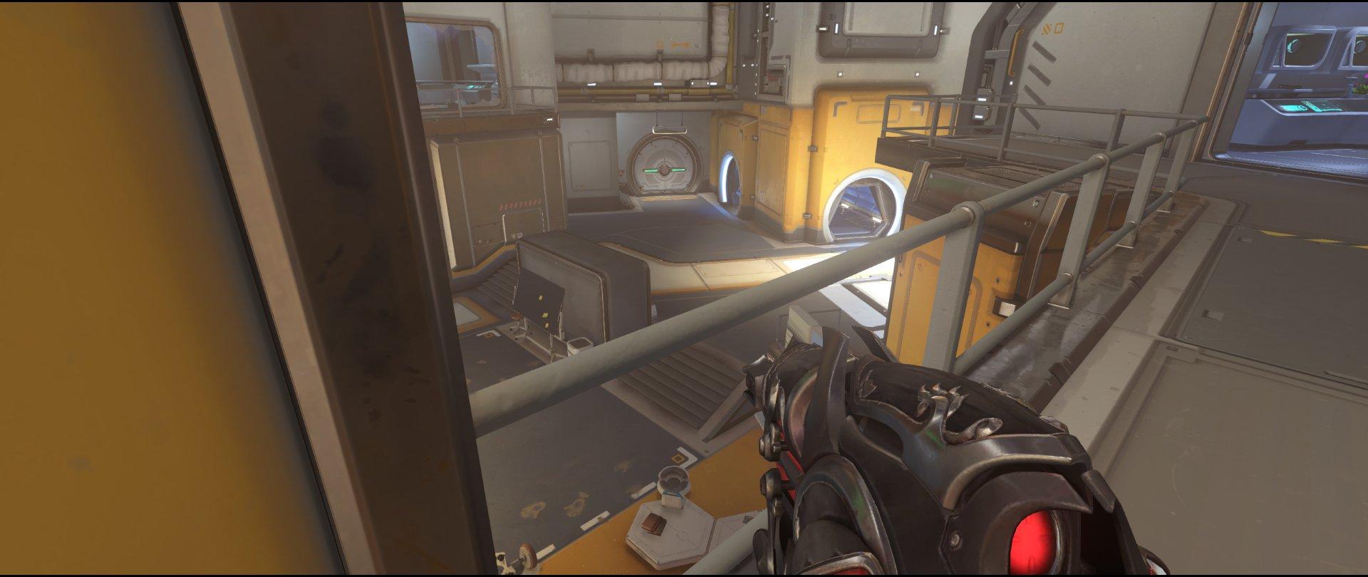 Catwalk+one+defense+sniping+spot+Widowmaker+Horizon+Lunar+Colony+Overwatch