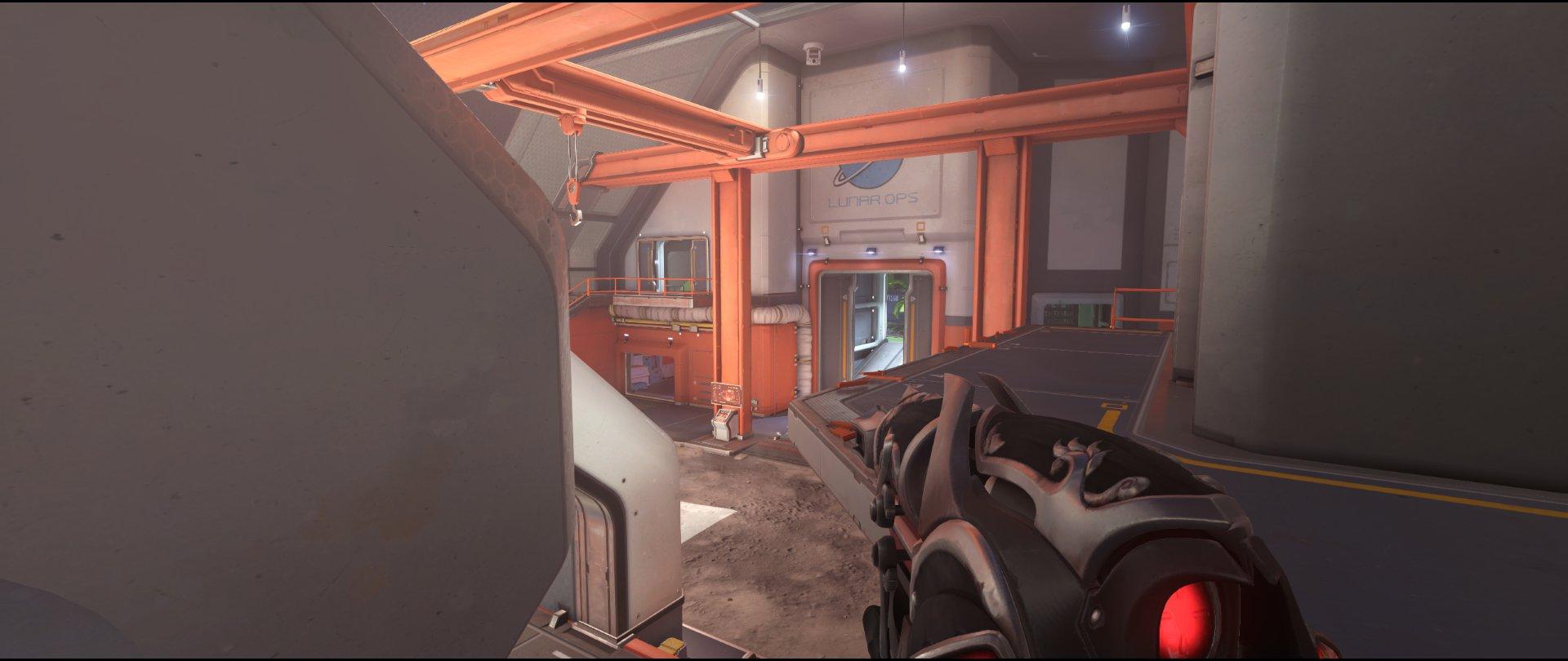 Main+high+ground+second+point+defense+sniping+spot+Widowmaker+Horizon+Lunar+Colony+Overwatch
