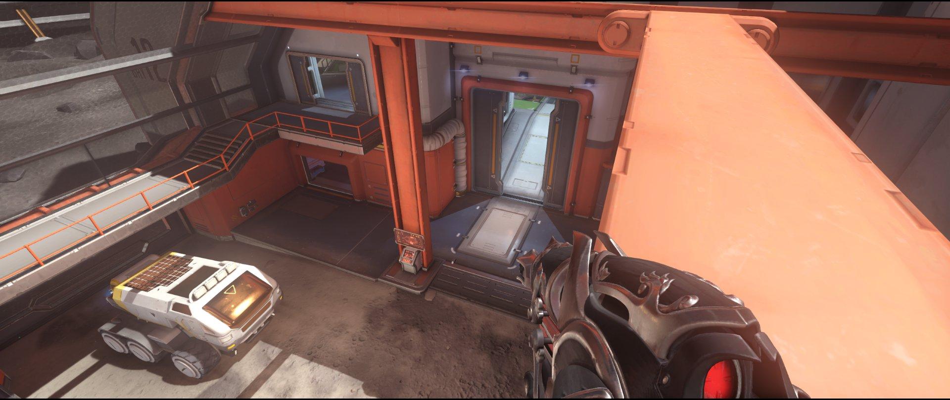 Crane+view+defense+sniping+spot+Widowmaker+Horizon+Lunar+Colony+Overwatch