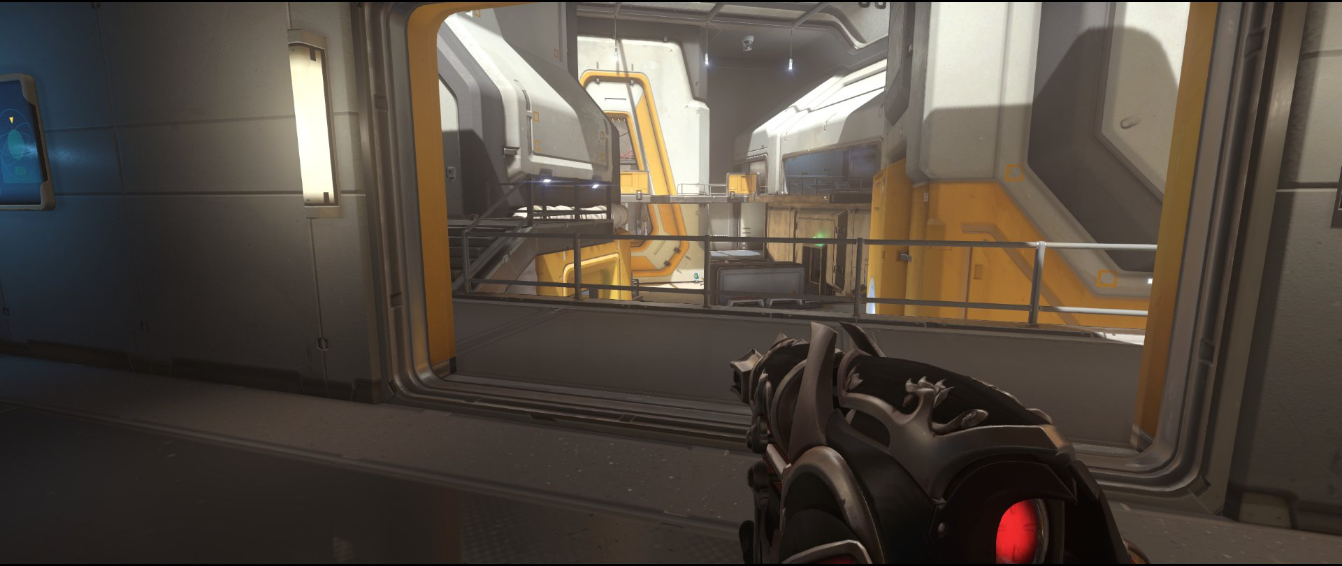 Upper+area+view+one+attack+sniping+spot+Widowmaker+Horizon+Lunar+Colony+Overwatch