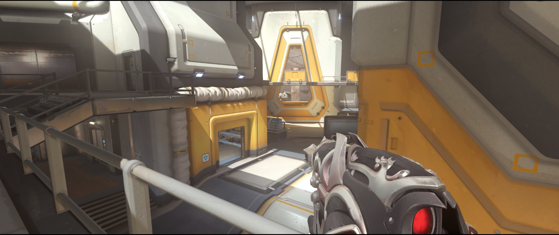 Upper+area+view+two+attack+sniping+spot+Widowmaker+Horizon+Lunar+Colony+Overwatch