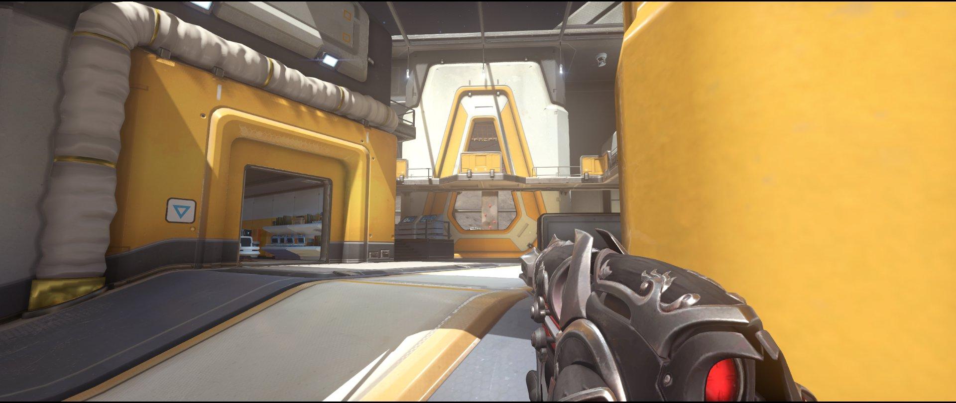 Alley+one+attack+sniping+spot+Widowmaker+Horizon+Lunar+Colony+Overwatch