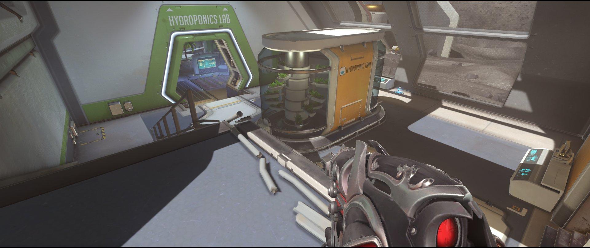 Catwalk+to+Tank+attack+sniping+spot+Widowmaker+Horizon+Lunar+Colony+Overwatch