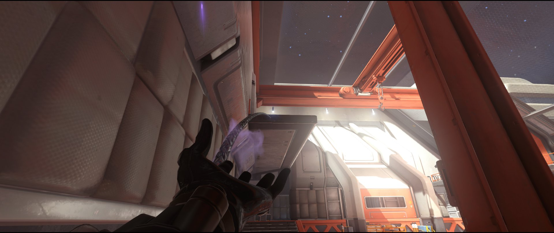 Connector+to+left+high+ground+attack+sniping+spot+Widowmaker+Horizon+Lunar+Colony+Overwatch