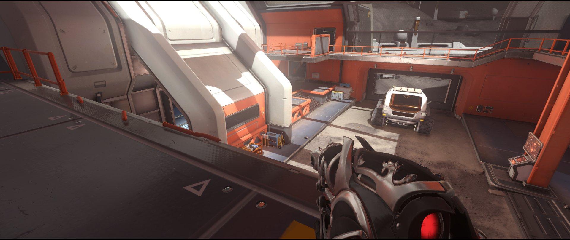 Left+side+high+ground+view+attack+sniping+spot+Widowmaker+Horizon+Lunar+Colony+Overwatch