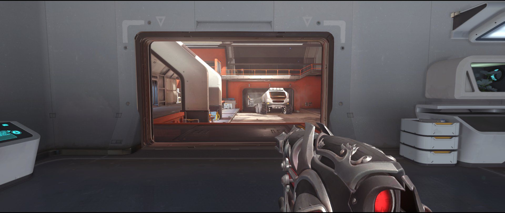 Earth+view+attack+sniping+spot+Widowmaker+Horizon+Lunar+Colony+Overwatch