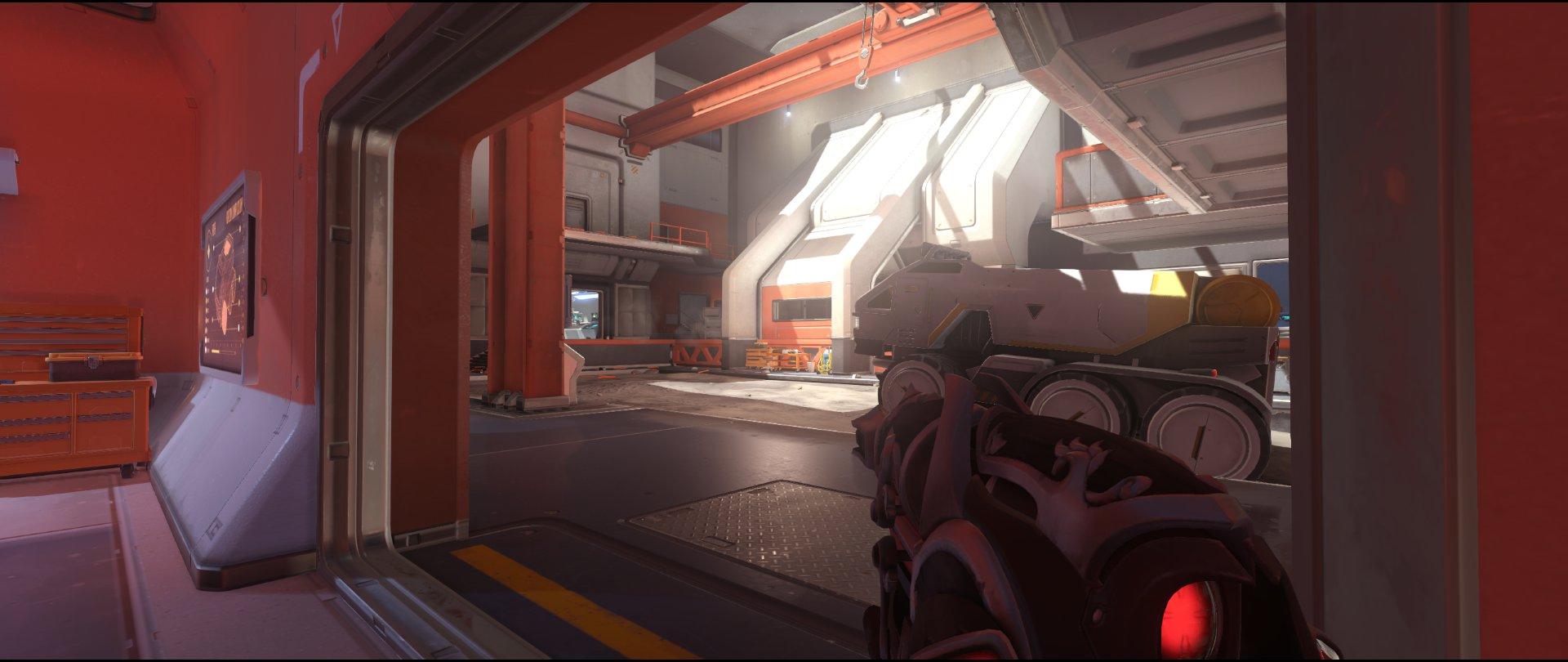 Buggy+view+attack+sniping+spot+Widowmaker+Horizon+Lunar+Colony+Overwatch