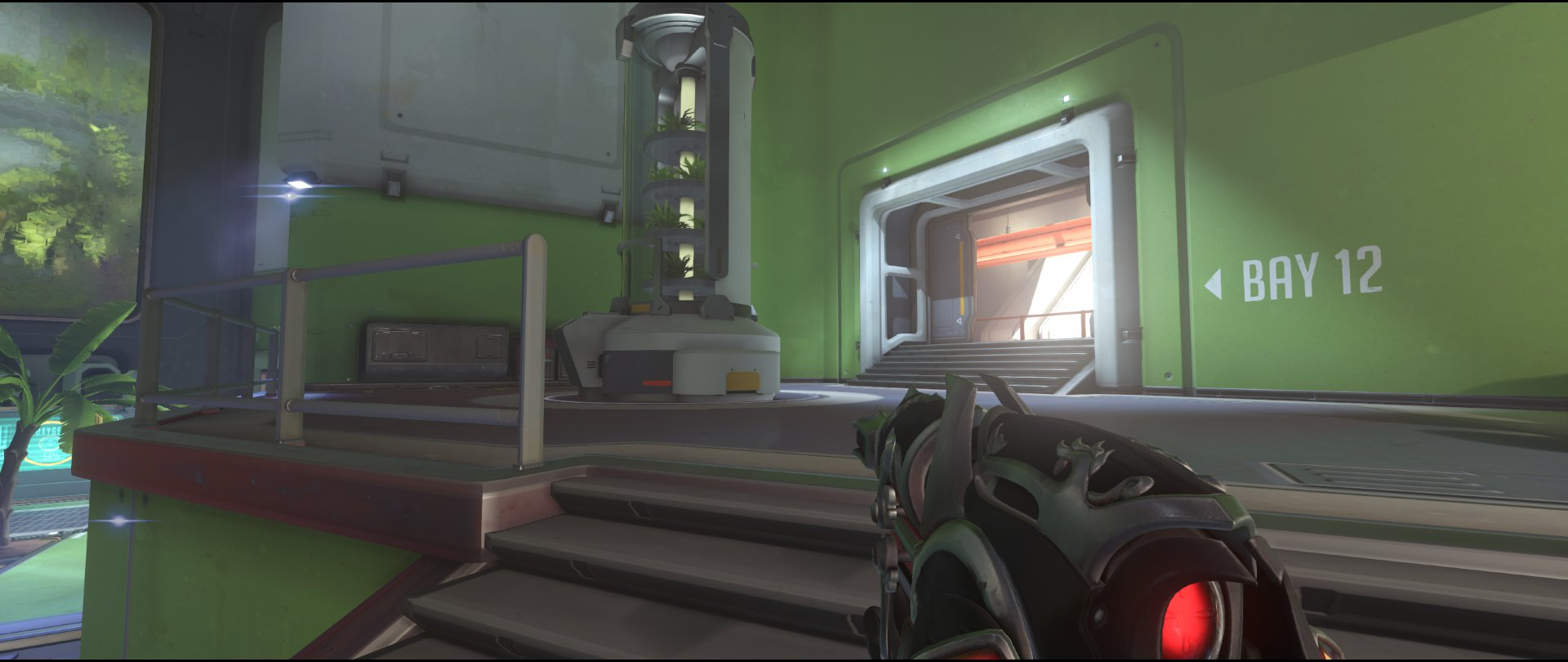 Hothouse+to+balcony+attack+sniping+spot+Widowmaker+Horizon+Lunar+Colony+Overwatch