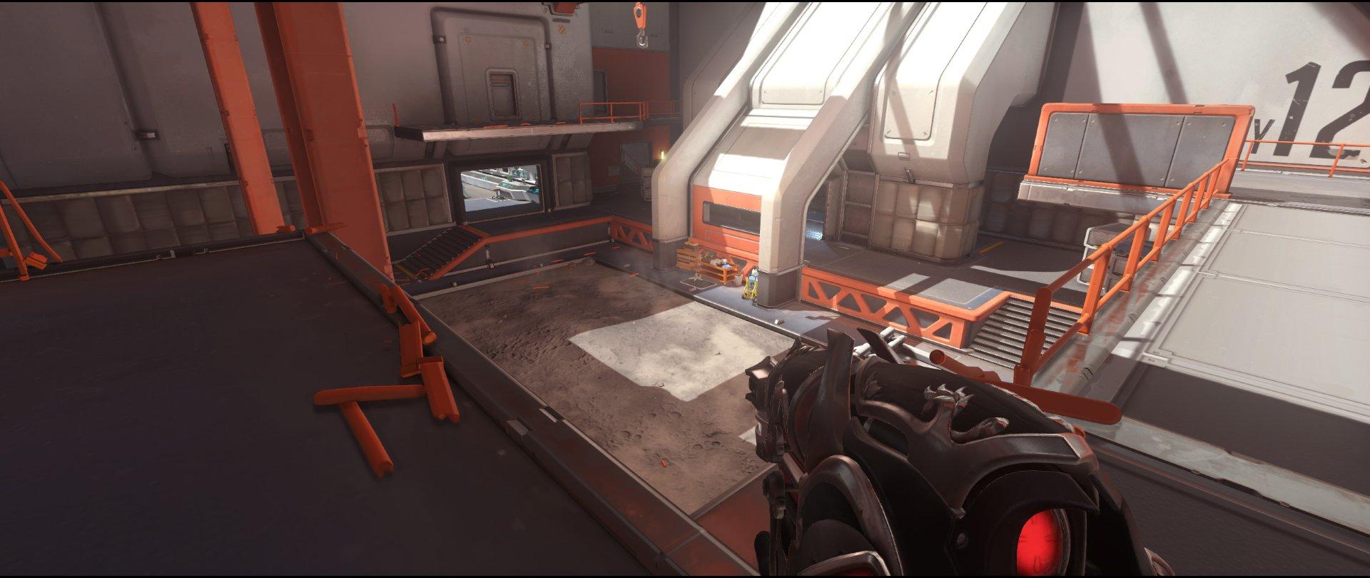 balcony+view+attack+sniping+spot+Widowmaker+Horizon+Lunar+Colony+Overwatch