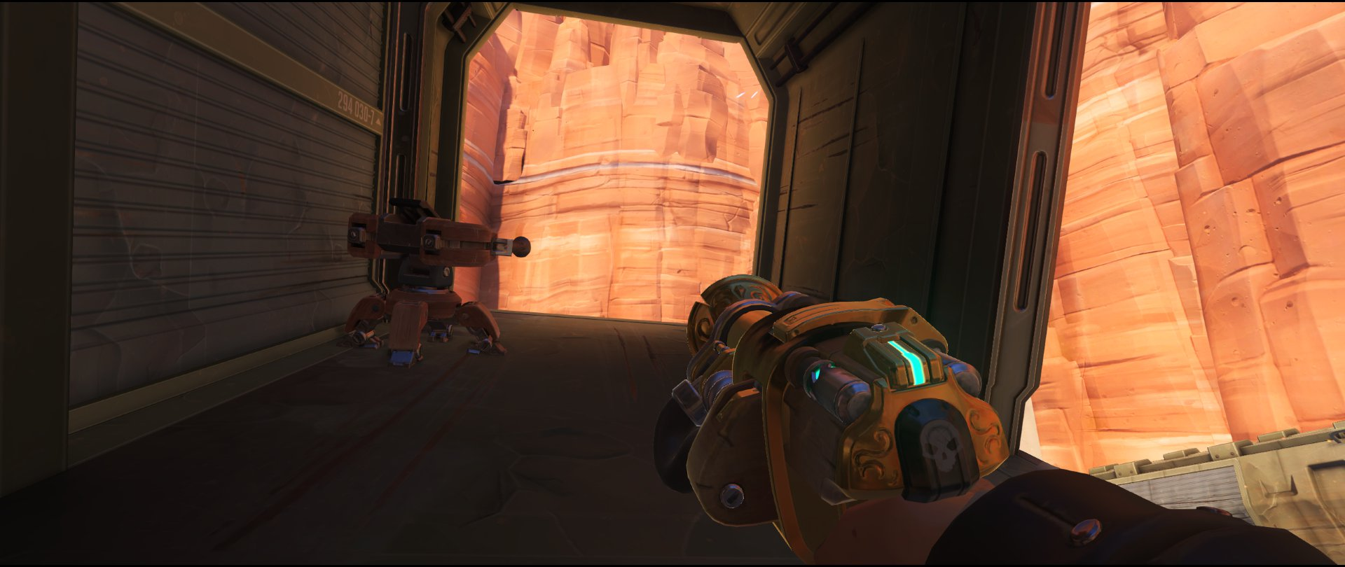 Boxcar+start+turret+placement+Torbjorn+Route+66+Overwatch