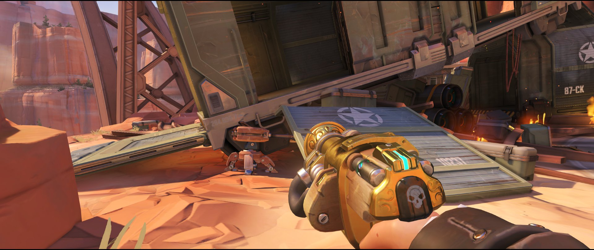 Side+ramp+start+turret+placement+Torbjorn+Route+66+Overwatch