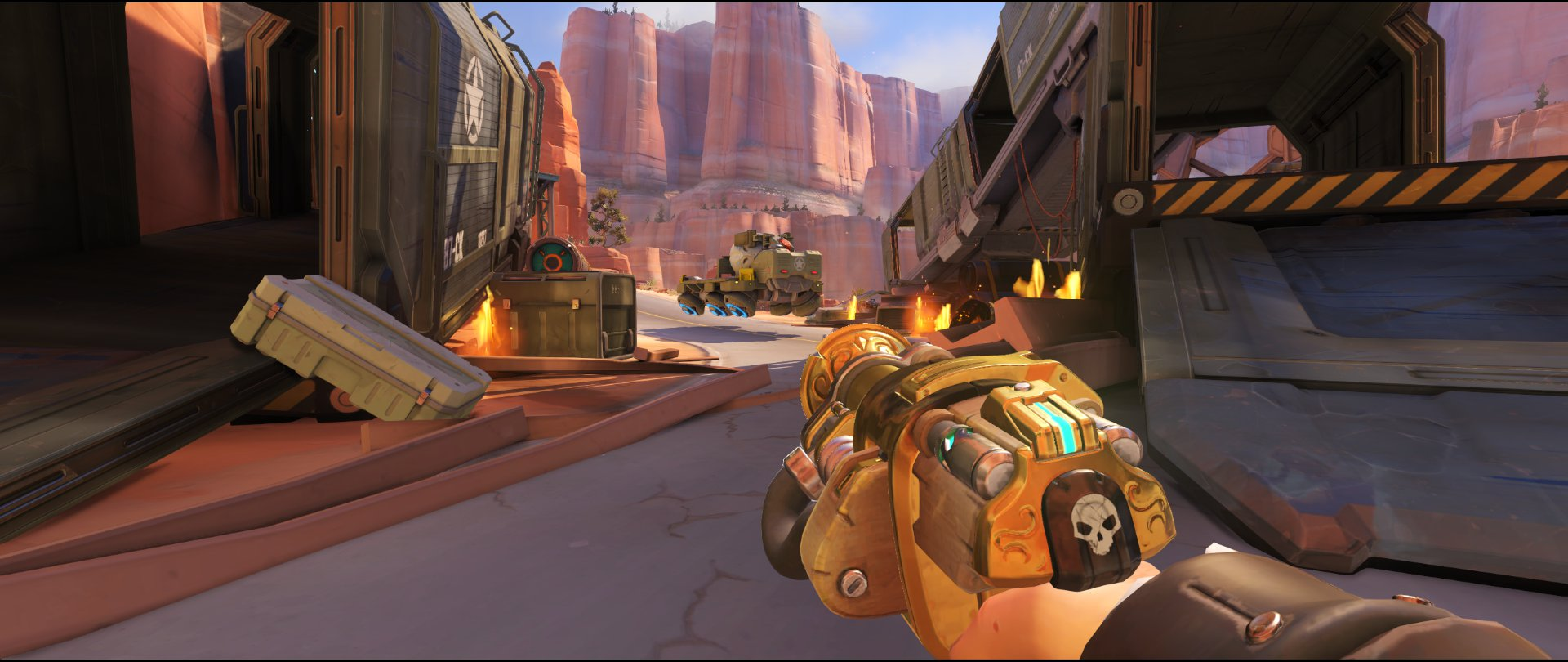 Side+ramp+start+view+turret+placement+Torbjorn+Route+66+Overwatch