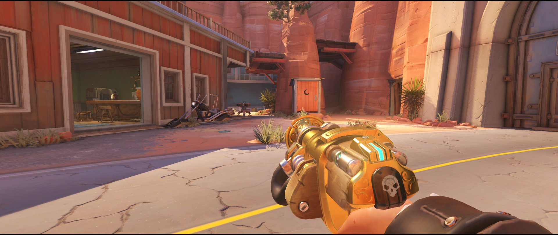 Next+to+Pub+and+Perch+turret+placement+Torbjorn+Route+66+Overwatch