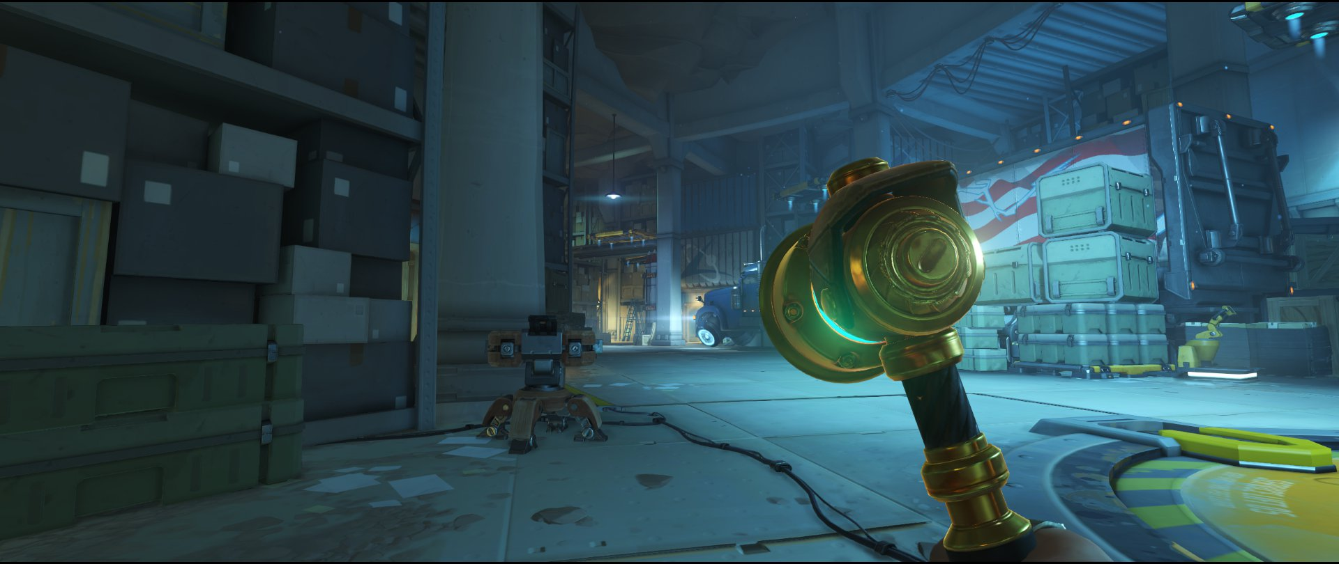 Main placement third point turret placement Torbjorn Route 66 Overwatch