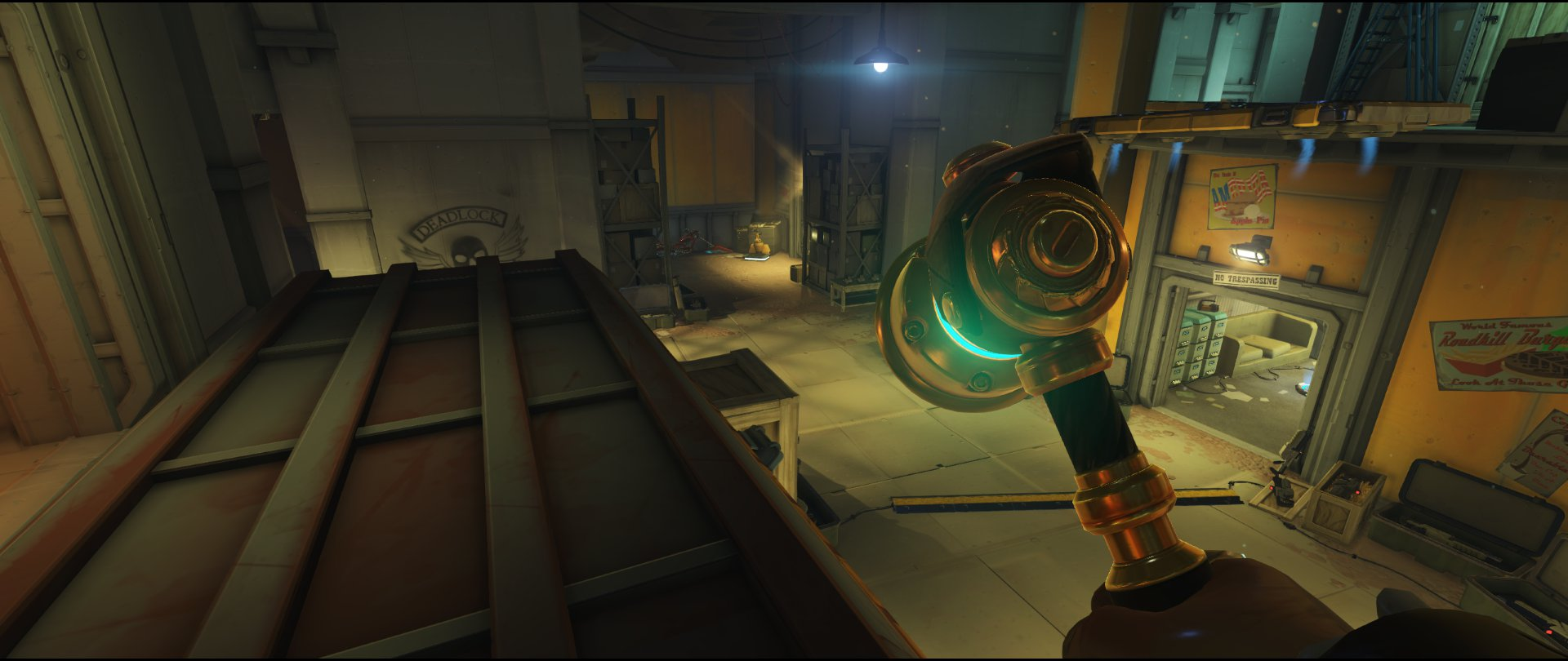 First area third point turret placement Torbjorn Route 66 Overwatch