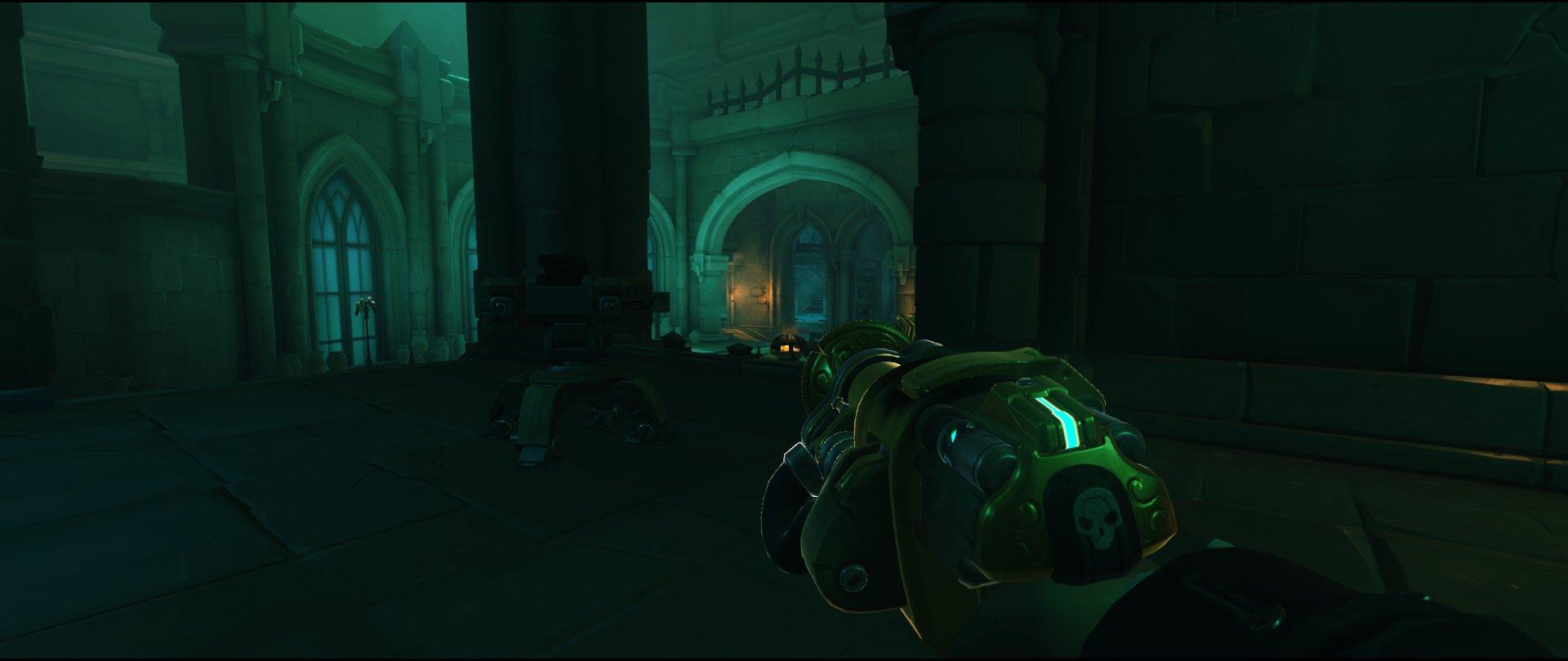 Third Point final defense turret placement spot Torbjorn Blizzard World Overwatch