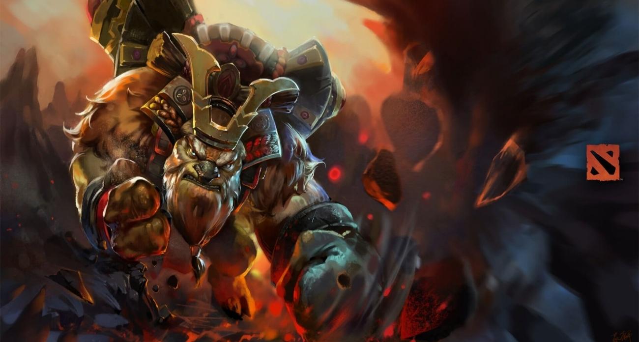 Samurai Soul loading screen for Earthshaker - Valve