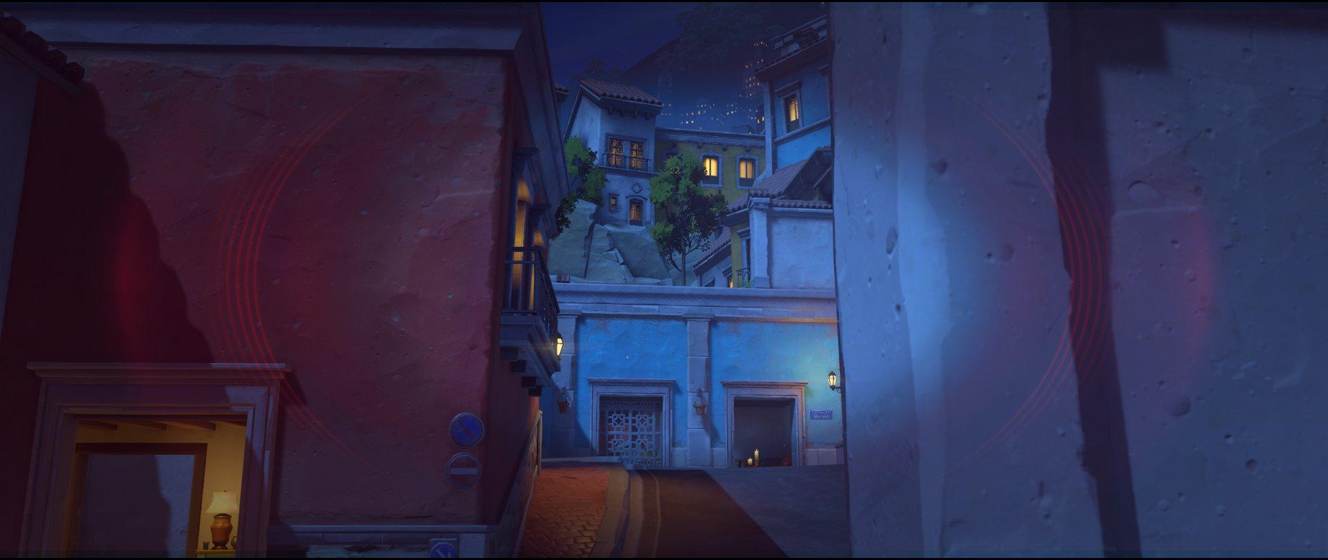 Wall to high ground attack sniping spot Widowmaker Dorado.jpg