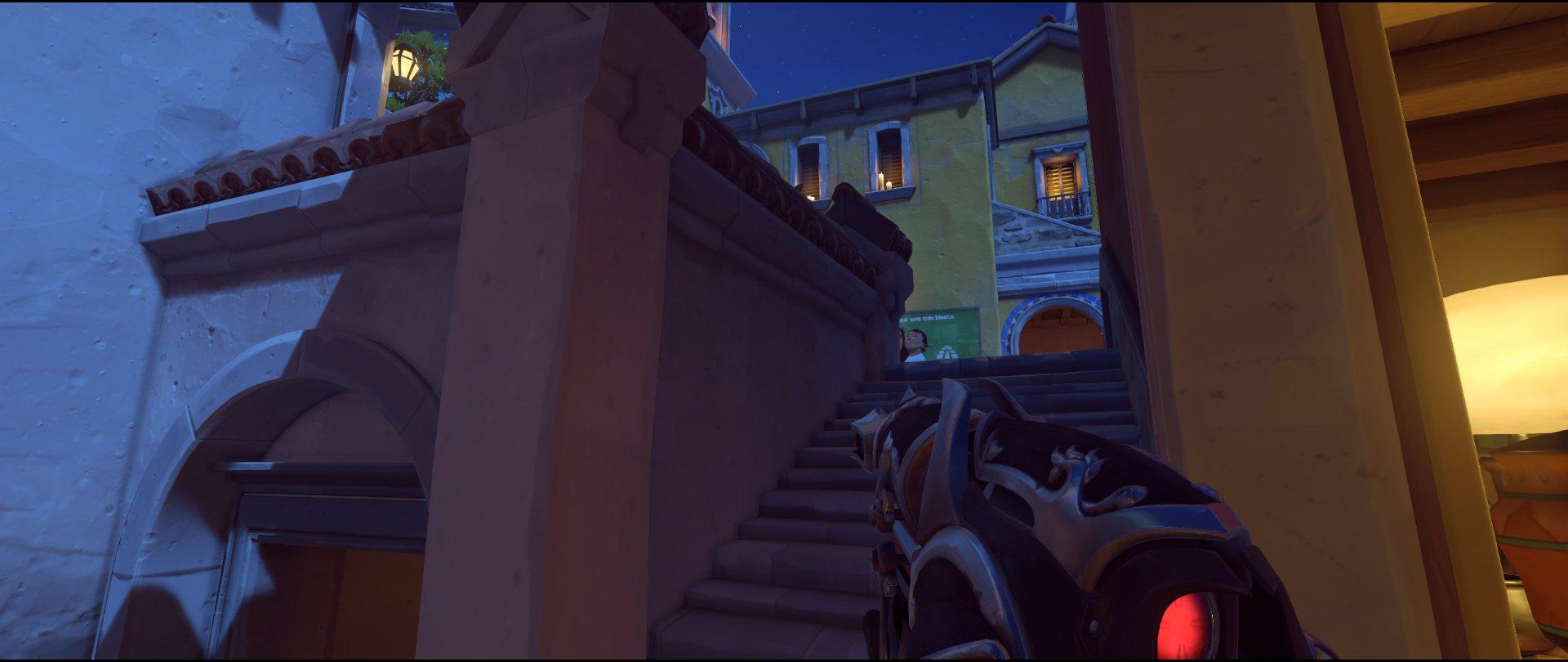 Stairs attack sniping spot Widowmaker Dorado.jpg