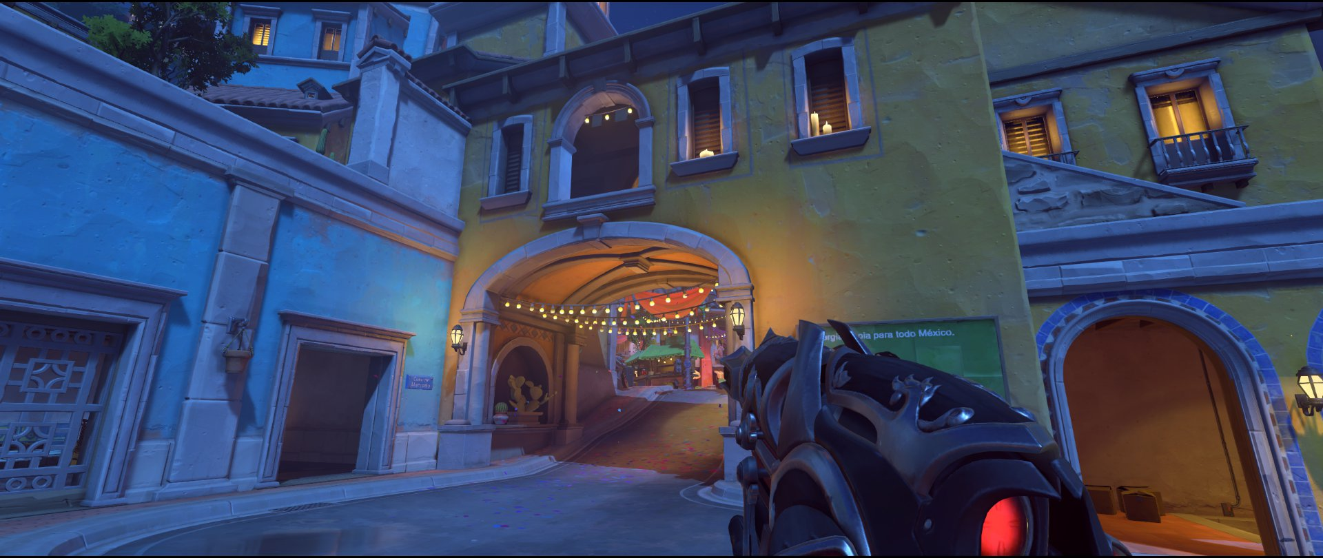Pass attack sniping spot Widowmaker Dorado