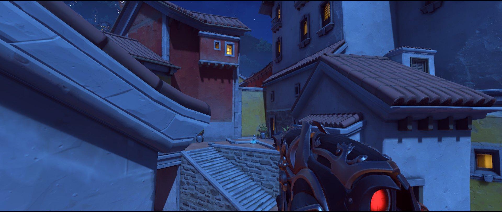 Long flank route attack sniping spot Widowmaker Dorado.jpg