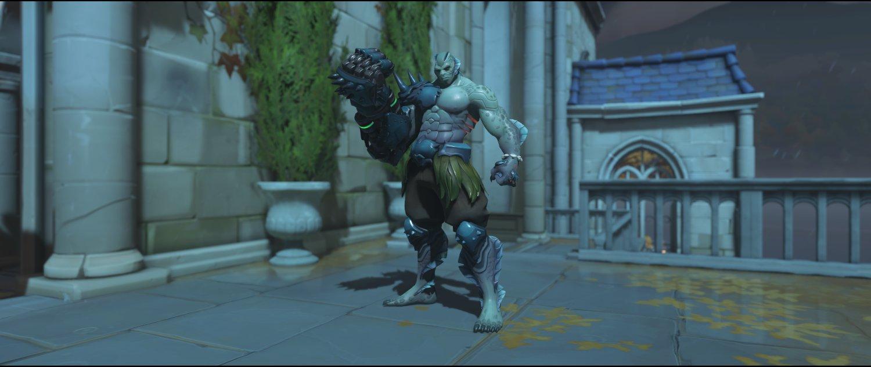 Swamp Monster front legendary Halloween Terror skin Doomfist Overwatch.jpg