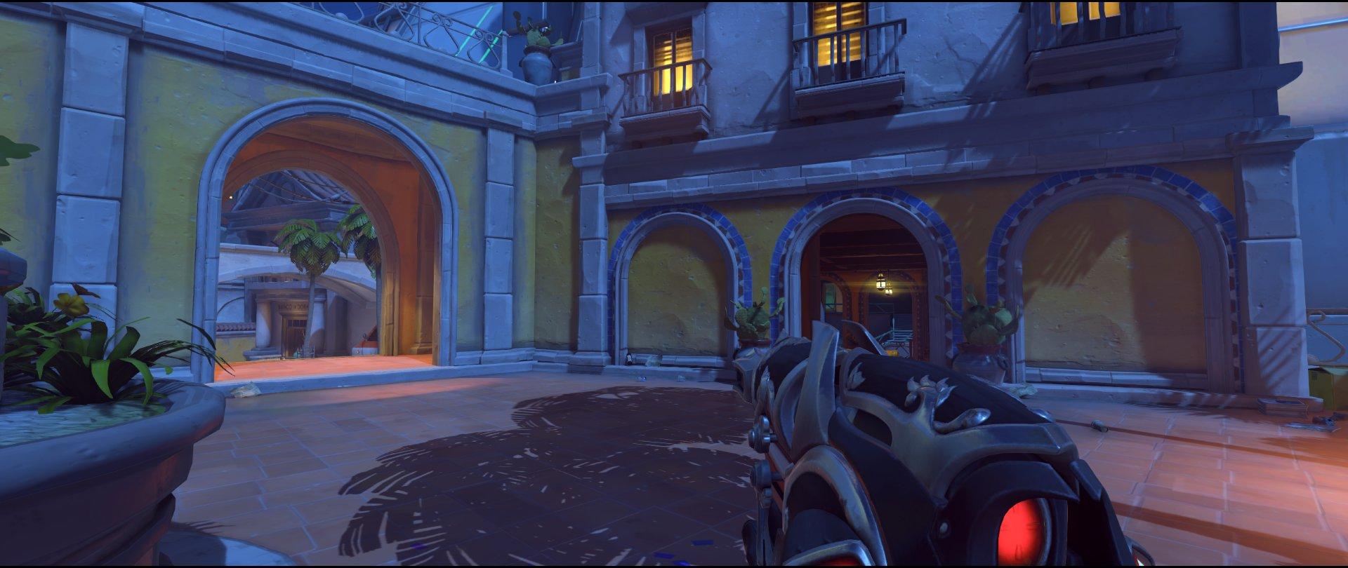 Courtyard attack sniping spot Widowmaker Dorado.jpg