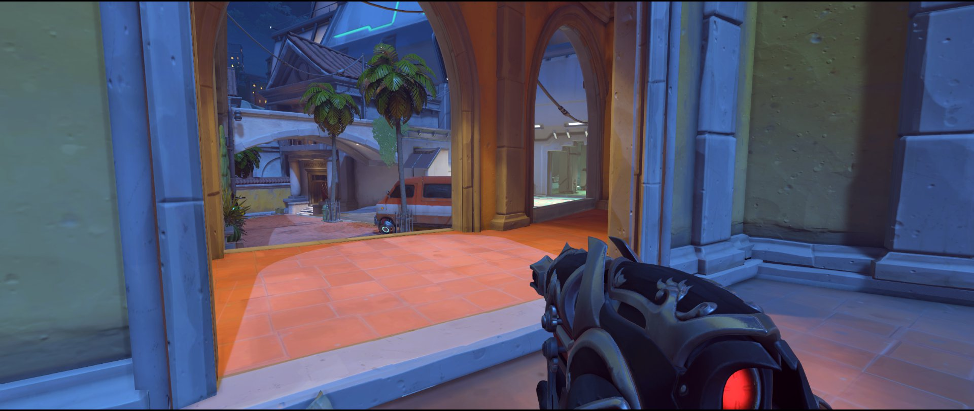 Courtyard to point attack sniping spot Widowmaker Dorado.jpg