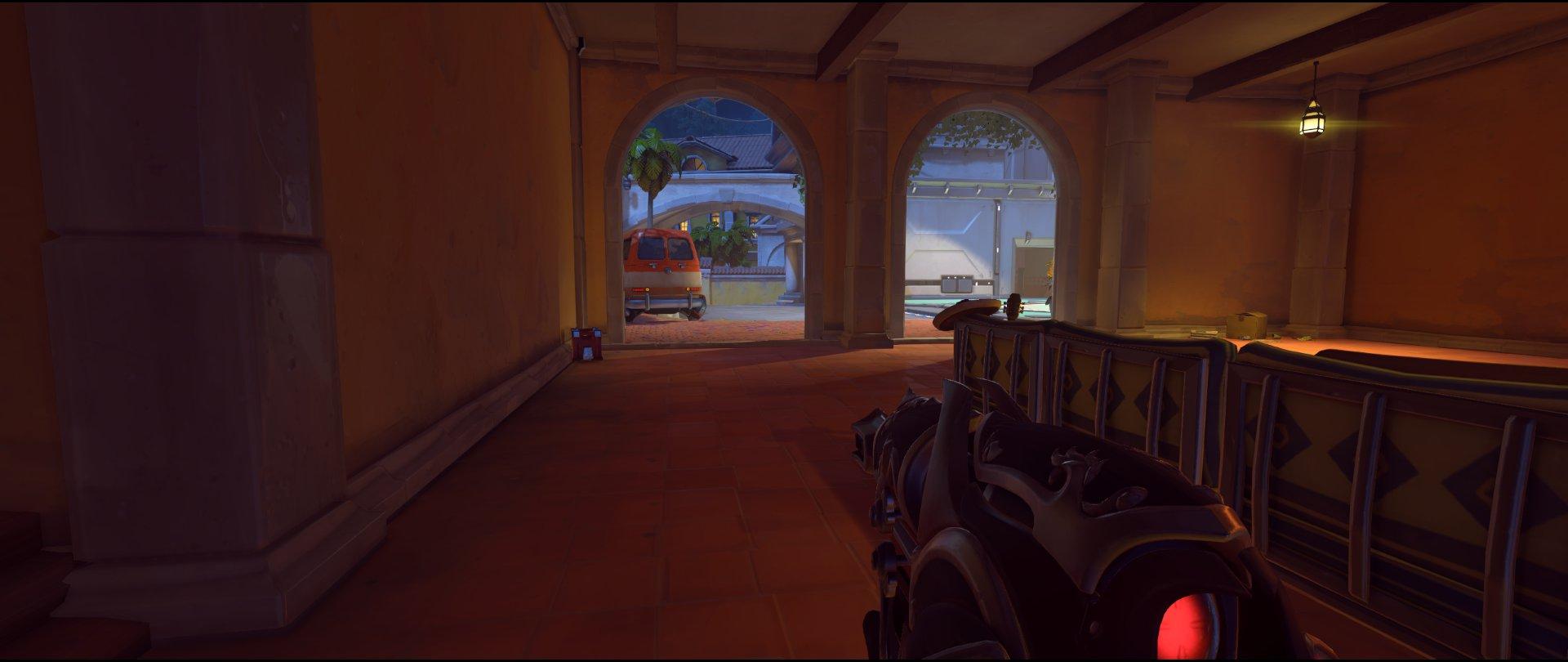 Ground level Ivy to point attack sniping spot Widowmaker Dorado.jpg