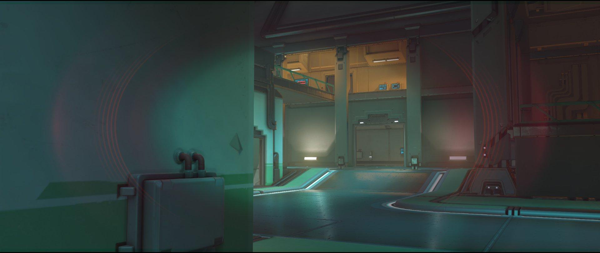 Warehouse view attack sniping spot Widowmaker Dorado.jpg