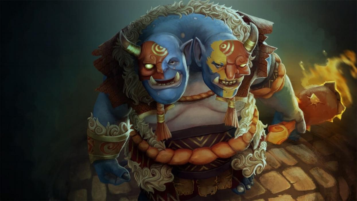 Ancestral Luck loading screen for Ogre Magi - Valve