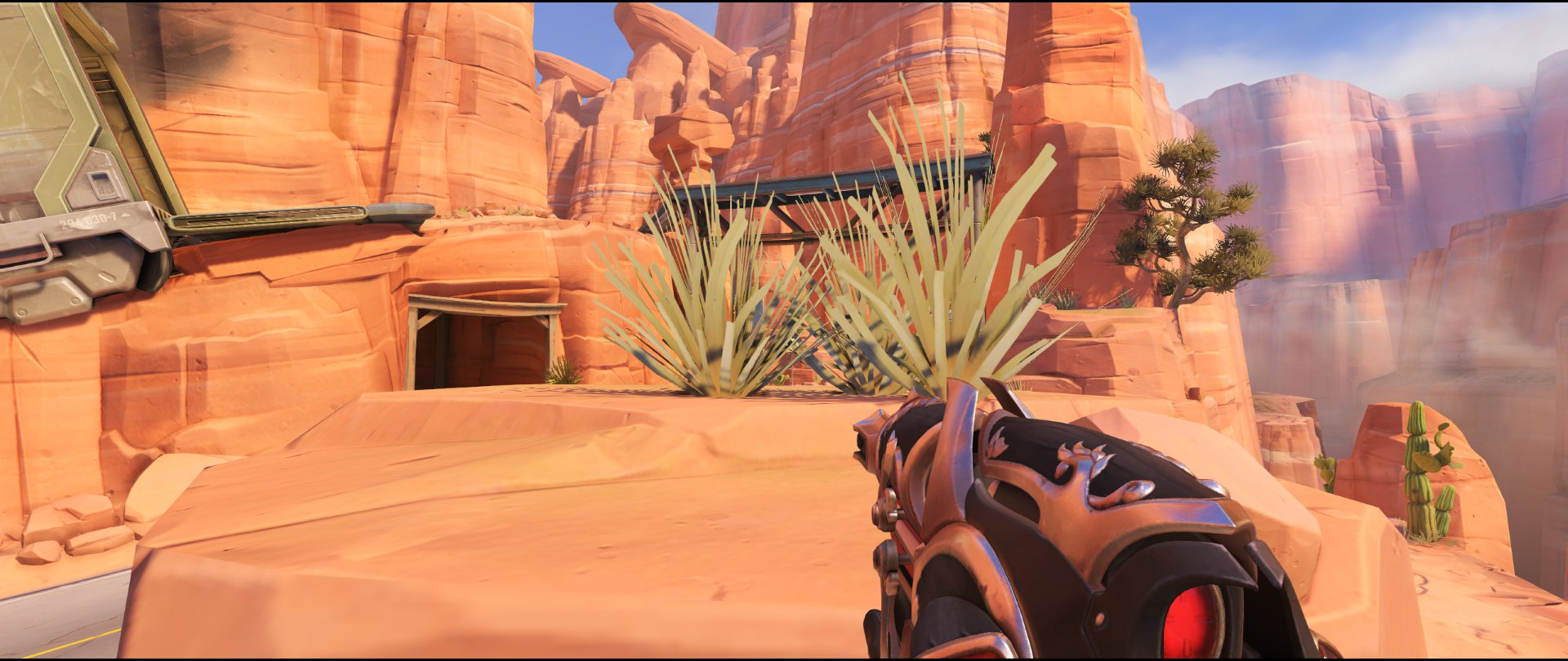 Rock right side wagon attack sniping spot Widowmaker Route 66.jpg