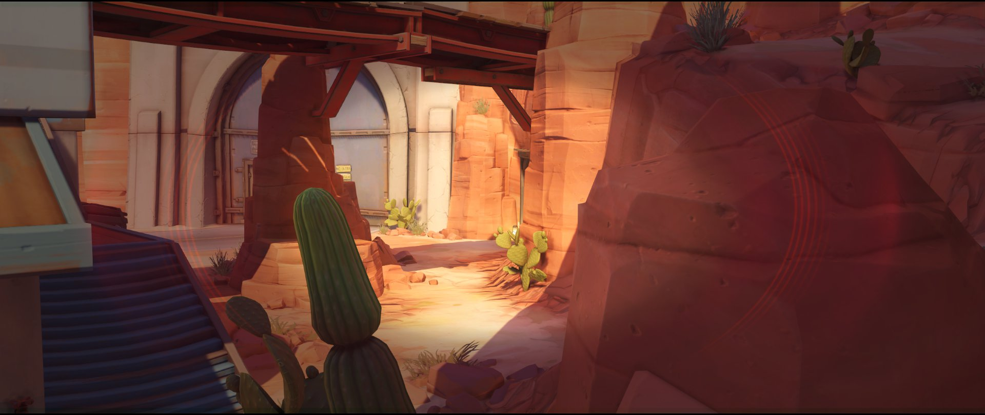 Path view two attack sniping spot Widowmaker Route 66