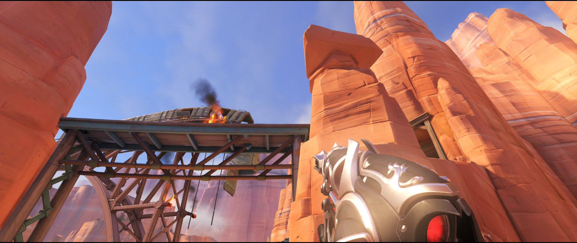 Arch area defense sniping spot Widowmaker Route 66