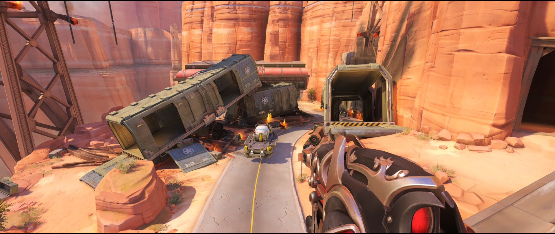 Arch view defense sniping spot Widowmaker Route 66