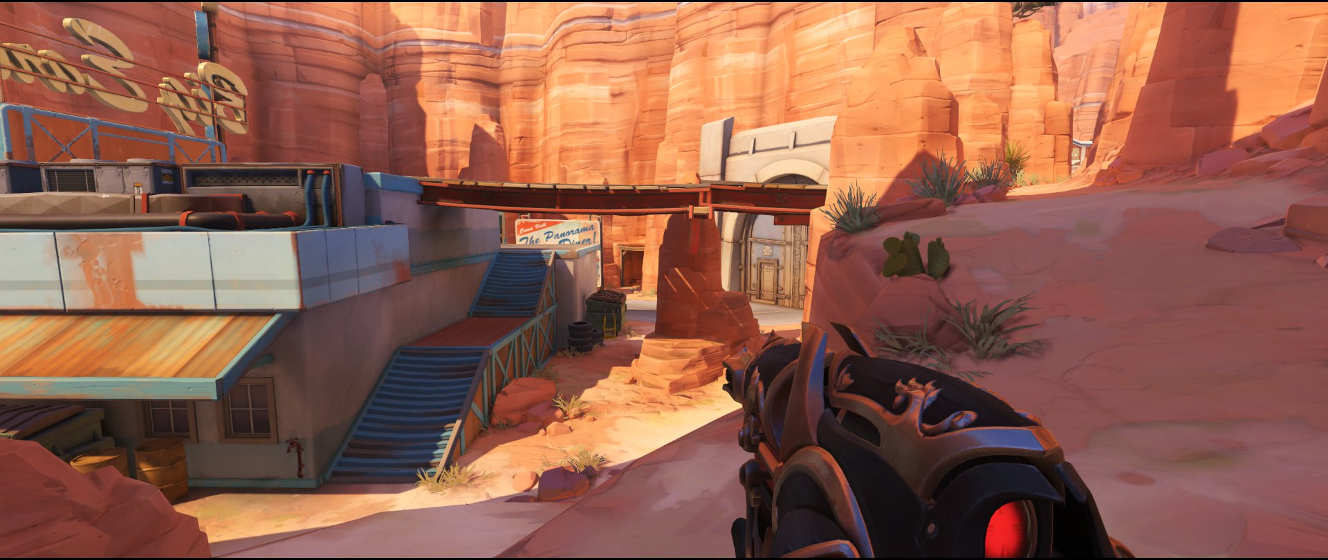 Path view to point defense sniping spot Widowmaker Route 66.jpg