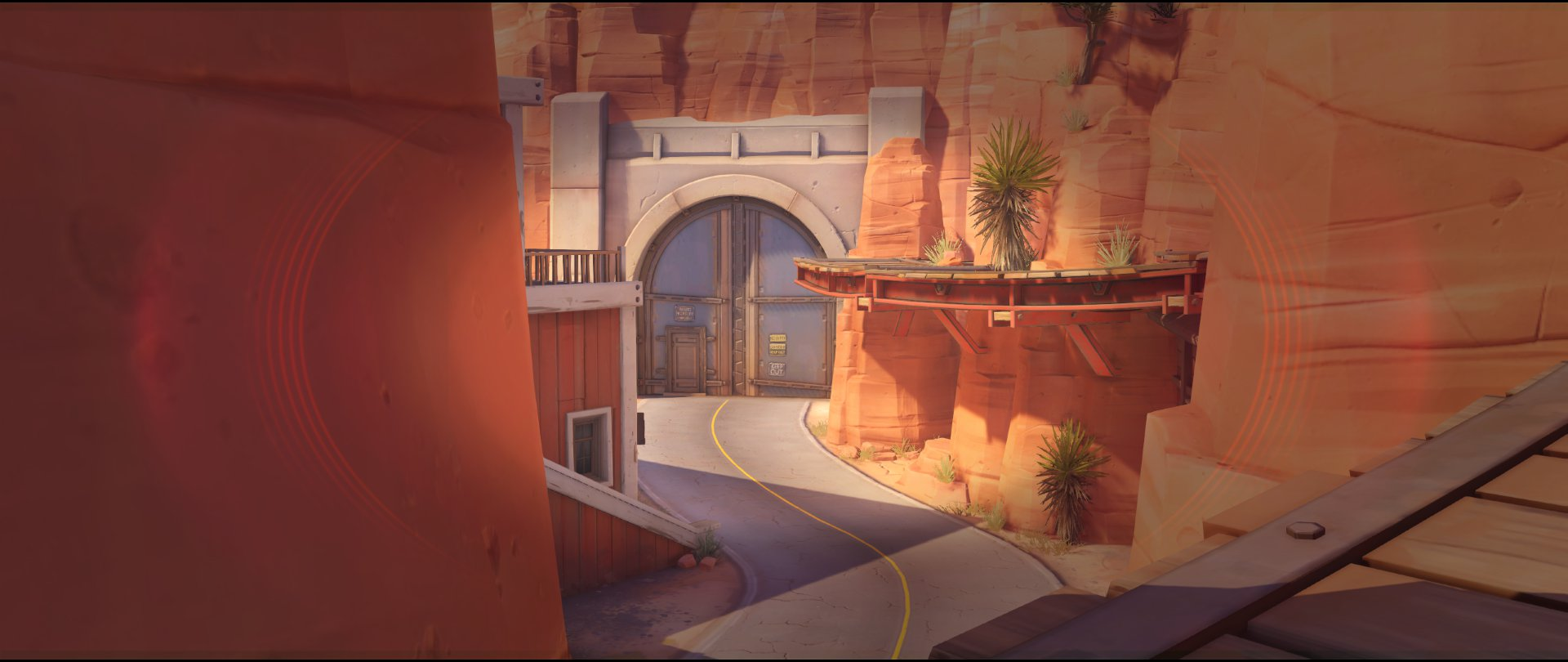 Catwalk view two attack sniping spot Widowmaker Route 66.jpg