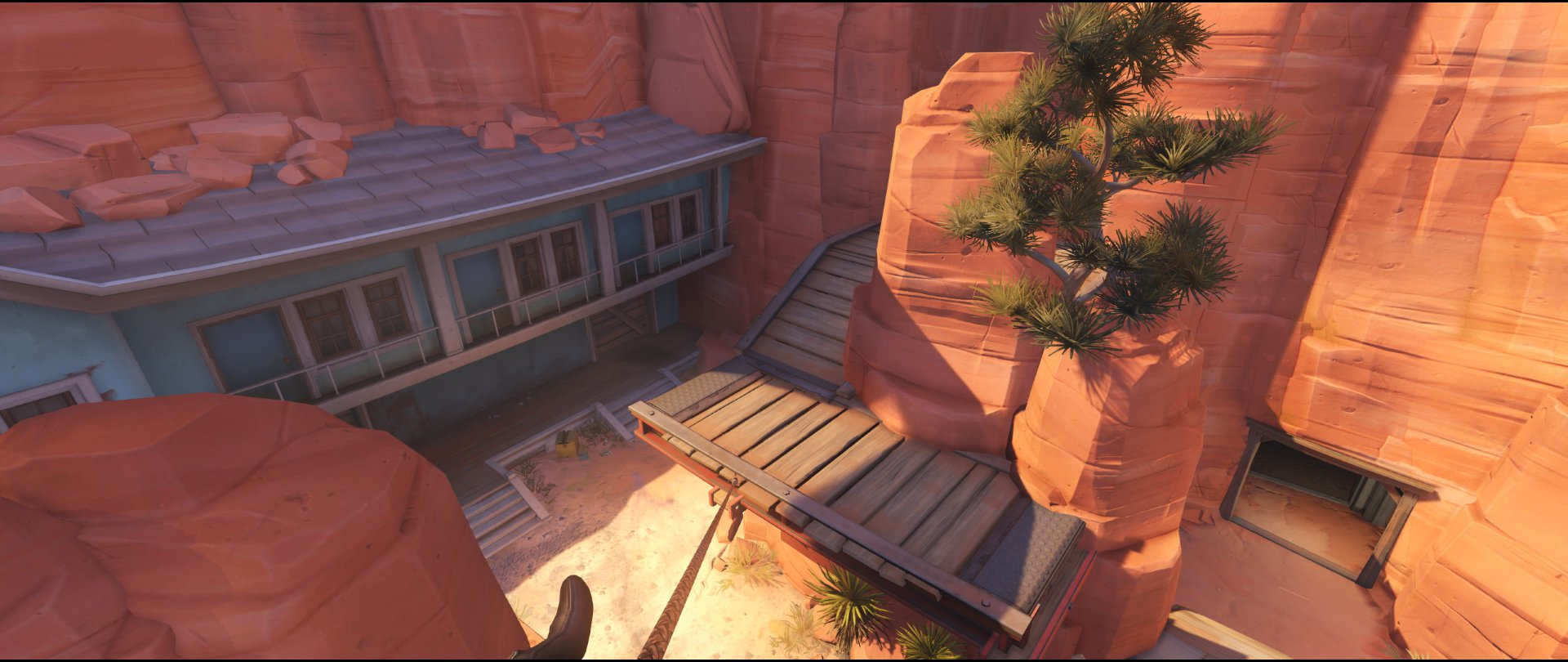 Pub to Perch attack sniping spot Widowmaker Route 66.jpg