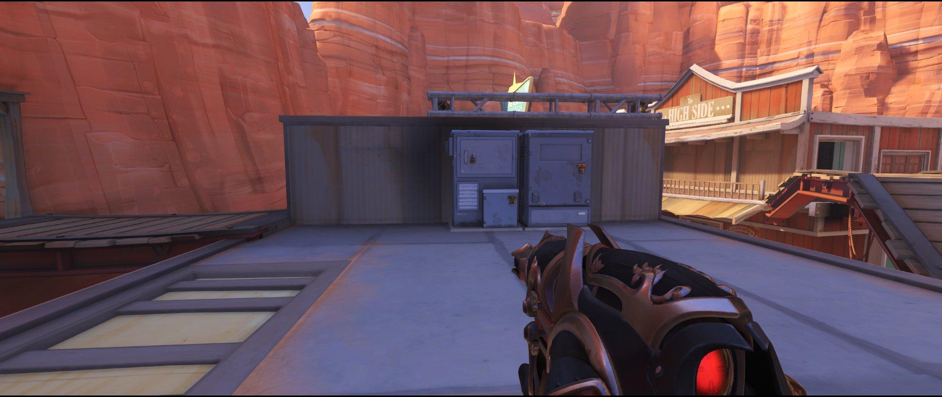 Zed defense sniping spot Widowmaker Route 66.jpg