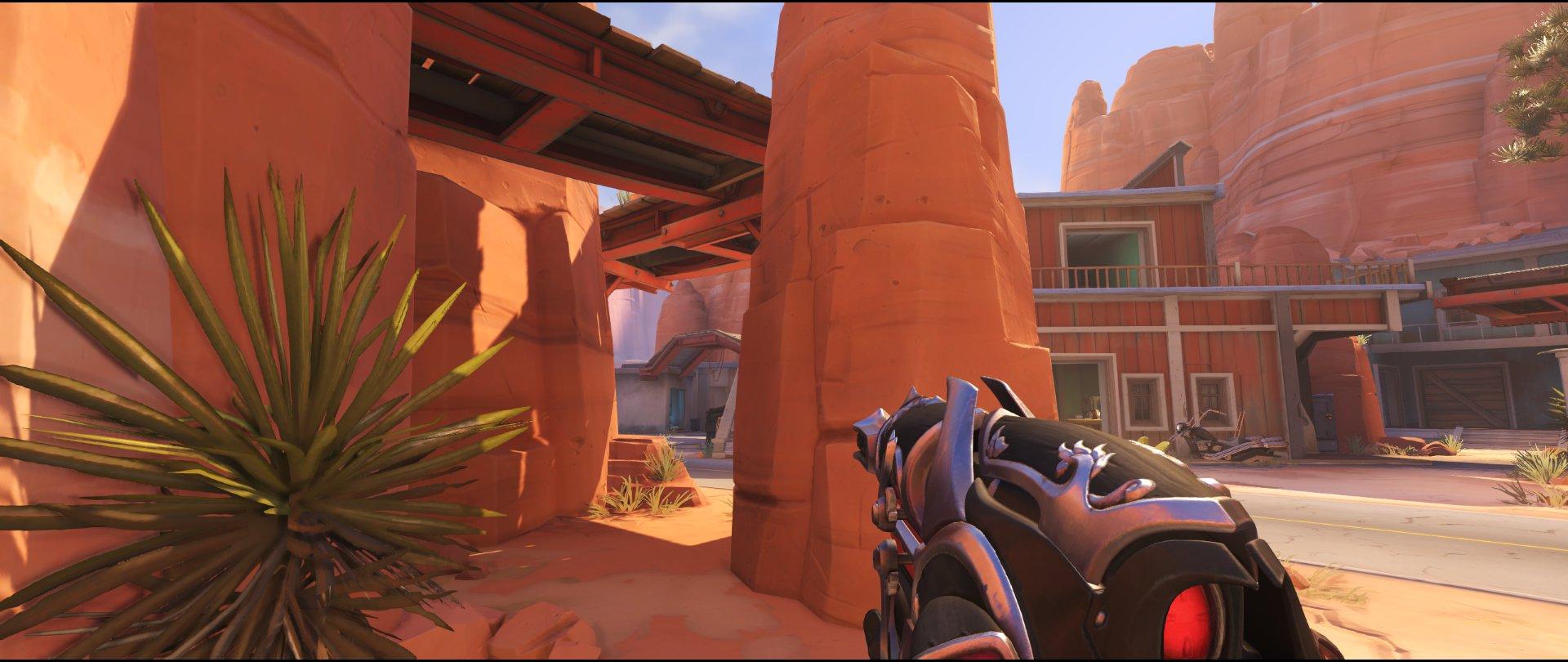 Pillar ground level defense sniping spot Widowmaker Route 66.jpg
